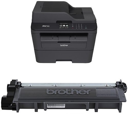 Brother MFCL2740DW Wireless Printer and Brother TN660 High Yield Toner