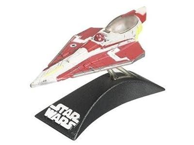 OBI-WANS JEDI STARFIGHTER Star Wars The Clone Wars * 3 INCH * Titanium 2009 Series Die Cast Vehicle