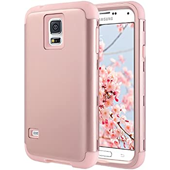 samsung galaxy s5 cute phone cases. galaxy s5 case, ulak shock resistant hybrid soft silicone hard pc cover samsung cute phone cases