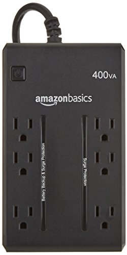 Build My PC, PC Builder, AmazonBasics Amazon Basics UPS - 400 VA