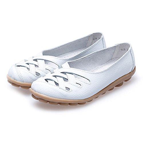 Paris HillEuph039 - zapatilla baja mujer blanco