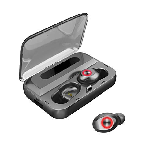 Rocketed Mini Bluetooth Earbud,V5.0 Stereo Wireless Bluetooth Headphones with Built-in Mic,Sport Waterproof Noise Cancelling in-Ear Earphone Car Headset for iPhone Samsung and Android Phones