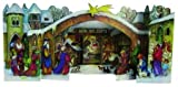 3D Christmas Nativity German Advent Calendar