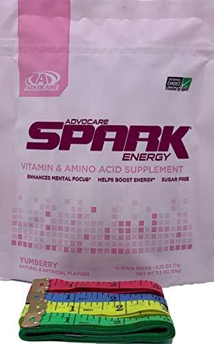 Advocare Spark Energy YumBerry 14 Sticks Bonus