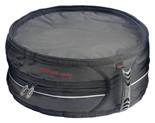 Stagg SSDB-14/6.5 14 x 6.5-Inches Professional Snare Drum Bag by Stagg