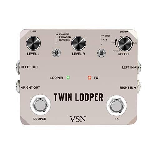 VSN Twin Looper Pedals