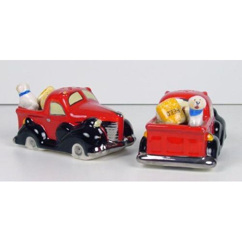 Henry Cavanagh Vintage Truck Salt and Pepper Shakers