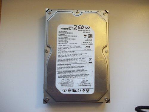 Seagate Barracuda ST3250820AS 250GB 7200 RPM 8MB Cache SATA 3.0Gb/s Perpendicular Recording Hard Drive