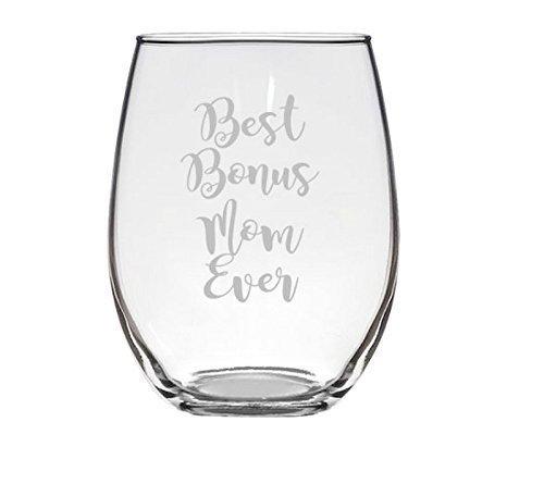 Law Glass (Best Bonus Mom Stemless Wine Glass)