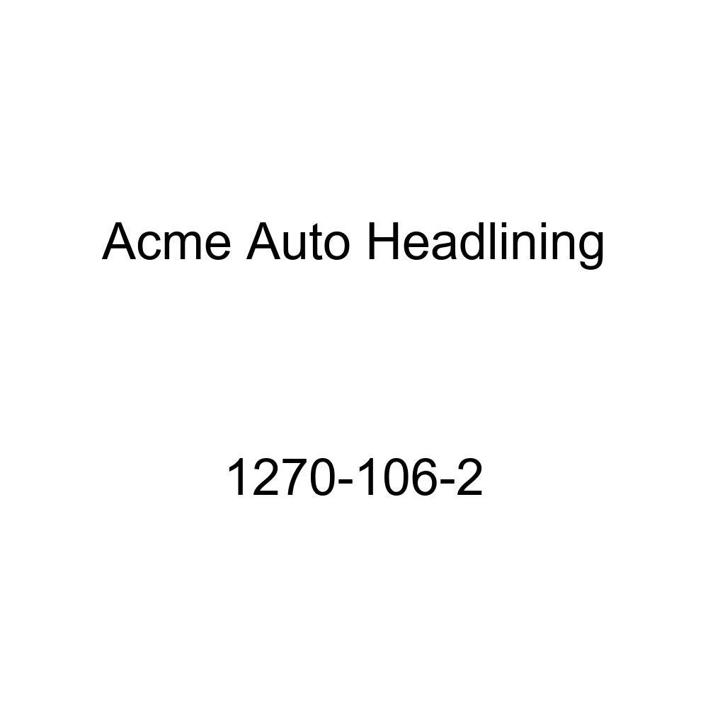 1957 Oldsmobile 88 2 Door Coupe Holiday Hardtop 8 Bows Acme Auto Headlining 1270-106-2 Aqua Replacement Headliner