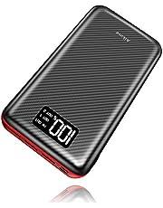 Power Bank 24000mAh Aikove  Batteria Esterna Caricabatterie Portatile con Display LCD Digitale e 3 Porte USB per Tutti gli Smartphone, a ltri dispositivi USB