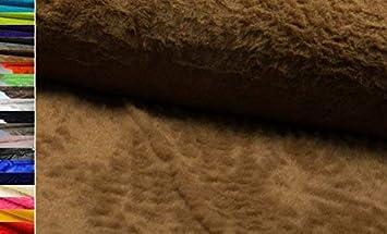 Tessuto book pelliccia Orsetto Teddy pelliccia pelliccia tessuto finta pelliccia Stoffe al metro D223 Kiwi