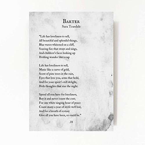 barter poem