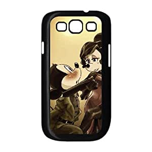 Disney Mickey Mouse Minnie Mouse Samsung Galaxy S3 9 Cell Phone Case Black 218y-676802