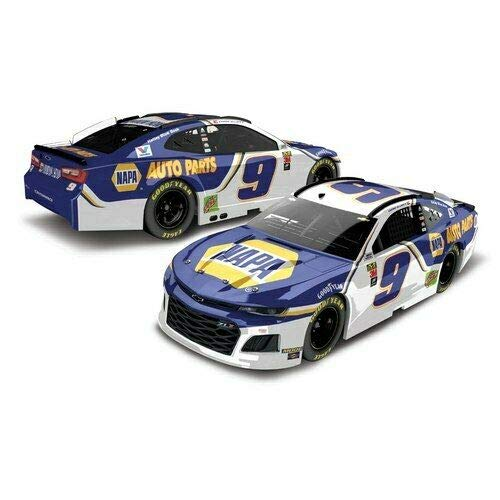 Chase Elliott #9 NAPA 2019 Camaro 1/24 1:24 Scale Action Racing Hood Opens 2nd Second Edition Production Run...Diecast Metal Body, Plastic Chassis