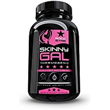 Skinny Gal Weight Loss for Women, Diet Pills by Rockstar, The #1 Thermogenic Diet Pill and Fast Fat Burner, Carb Block & Appetite Suppressant, Weight Loss Pills, 60 Veggie Cap
