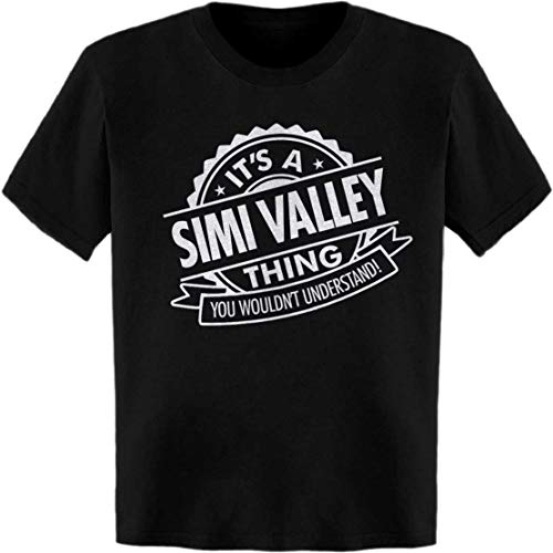 BuffThreads It's a SIMI Valley Thing. You Wouldn't Understand! Quality Seal T-Shirt Black