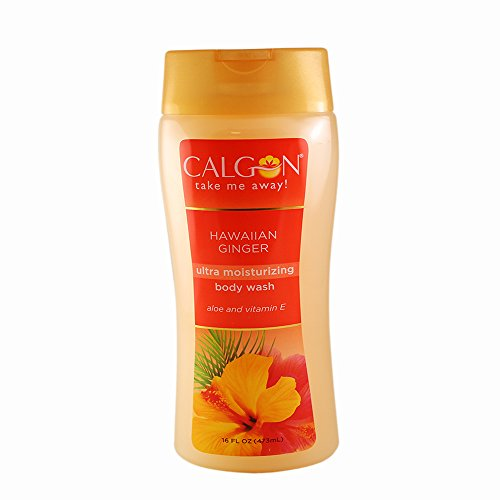 Calgon Ultra-Moisturizing Body Wash (Hawaiian Ginger, 16-Ounce)