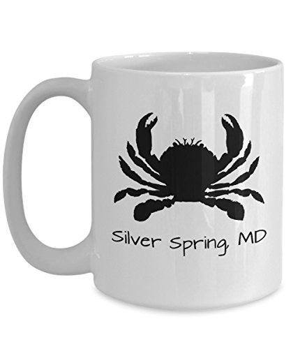 Silver Spring crab mug | Maryland themed gift