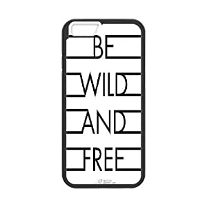 """Black & White Quotes iPhone6 4.7"""" Case Cover, Personalized iPhone6 4.7"""" Cover"""