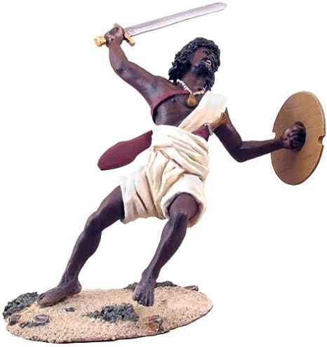 Amazon com: W  Britains Toy Soldiers Sudan War 27023 Hadendoa
