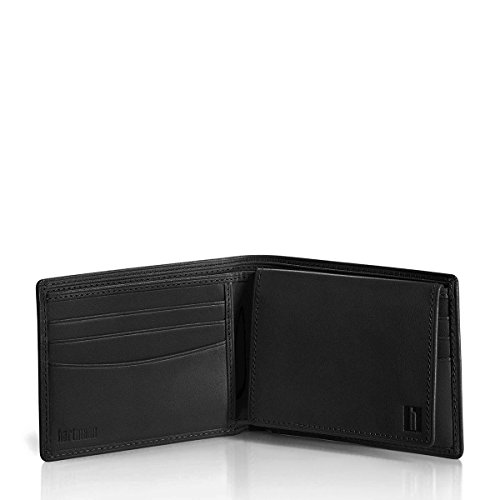 Heritage Black Removable Wallet Leather Wallet w Belting Card Hartmann 0I8qn