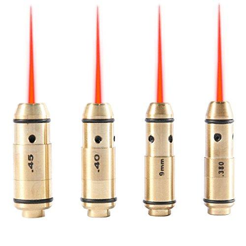 LaserLyte Laser Trainer Pistol Cartridge Kit for 380/9/40/45