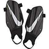 Nike Charged Soccer Shinguards Black/White Size Small