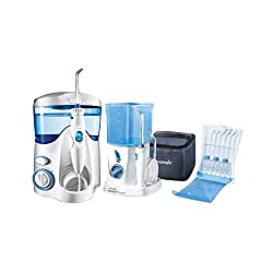 Waterpik Water Flosser, Nano Flosser, Deluxe Traveler Case, Tip Storage Case and 12 Accessory Tips Combo Pack from Waterpik