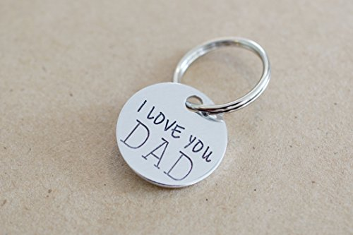 Amazon.com  I Love You Dad Keychain  Handmade d76fa803a9fb
