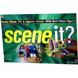Toy / Game Mattel Scene It Jr. Dvd Game (2.5 X 10.4 X 15.6 Inches ; 2.1 Pounds) Create The Ultimate Experience by 4KIDS by 4KIDS