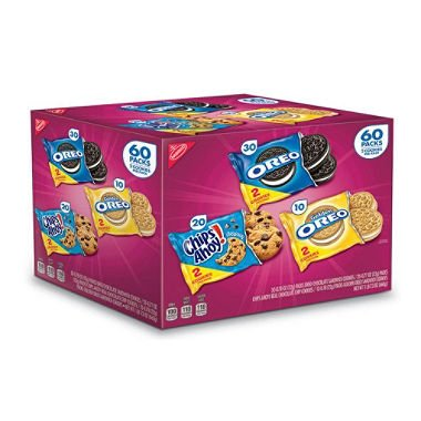 Nabisco Cookie Variety Pack (60 pk.) (pack of 6)
