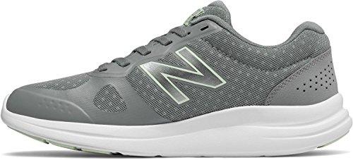 New Balance Mujeres Versi V1 Amortiguación Running Shoe Steel
