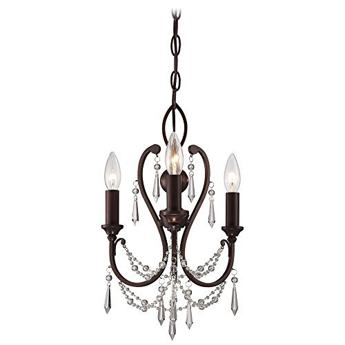 Minka Lavery 3138-284 3 Light Vintage Bronze Mini Chandelier by Minka Lavery by Kovacs