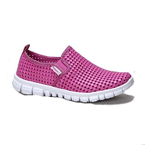 Holees Original Ladies Slip On Shoe Pink/White lbwQOaX5GR