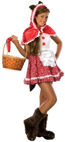 Tween Little Red Riding Hood Costume (Red Riding Hood Tween Costume, Medium)
