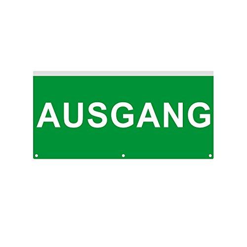 Cartel de Emergencia con Banderola LED Ausgang efectoLED ...