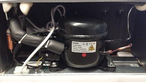 Sirge FRIGO91L Refrigerador 91 litros con congelador Clase A + Minibar Frigorífico: 81 litros Refrigerador + 10 litros de hielo: Amazon.es: Hogar