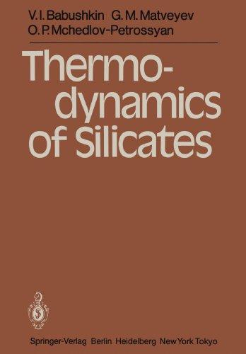 Thermodynamics of Silicates