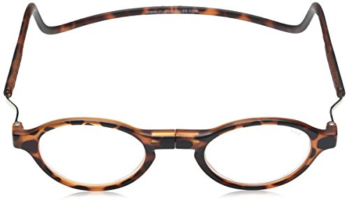 d397b02dc1 Clic Magnetic Vintage Oval Reading Glasses in Light Demi-Tortoise   +1.75