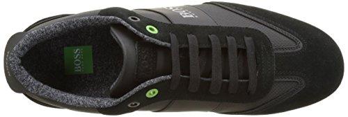 BOSS Green Lighter_lowp_cvc 10197554 01, Zapatillas para Hombre Negro (Black 1)