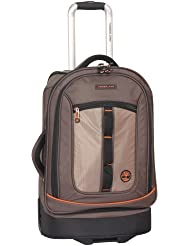 Timberland Luggage Jay Peak Durable 21 Inch Wheeled Upright, Cocoa, One Size
