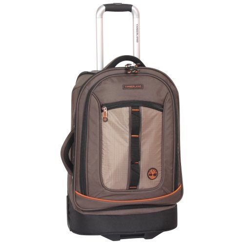 (Timberland Expandable Spinner Carry On Suitcase, Cocoa)