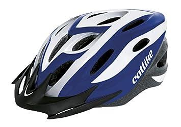 Catlike Xena - Casco de ciclismo, color azul/blanco, talla MT (52
