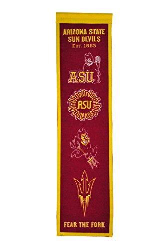 Arizona State Applique Banner - Winning Streak Sports NCAA Arizona State Sun Devils Heritage Banner