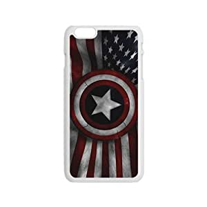 Captain America's Shield Brand New And High Quality Hard Case Cover Protector For Iphone 6