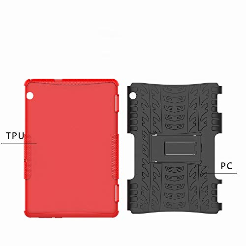 white perfect essential For ROCKWEY Mediapad Scratch Black layer Accessories Travel absorbent 2 Case Mediapad Huawei For Shock in Phone protection Huawei t5 PC t5 TPU Advanced double 10 10 1 COqOdRw