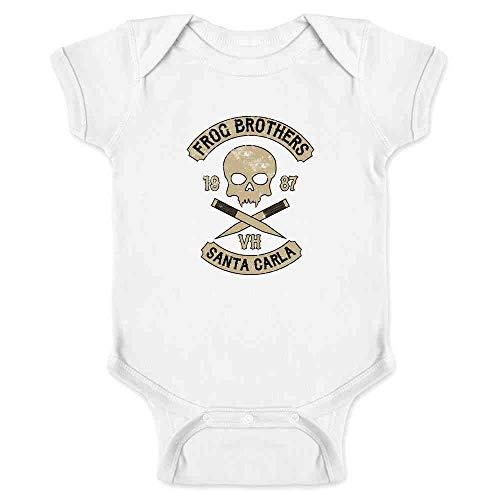 Frog Brothers Santa Carla Halloween Costume Horror White 18M Infant Bodysuit -