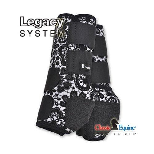 クラシックEquine Legacyシステム保護用boots-hind レース Small
