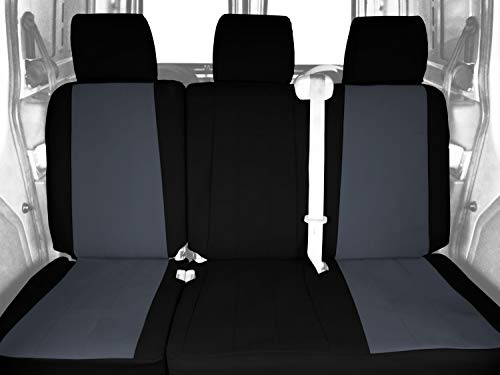 CalTrend FD479-03CC Cordura Charcoal Custom Seat Covers -